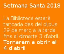 Horaris_Setmana Santa 2018